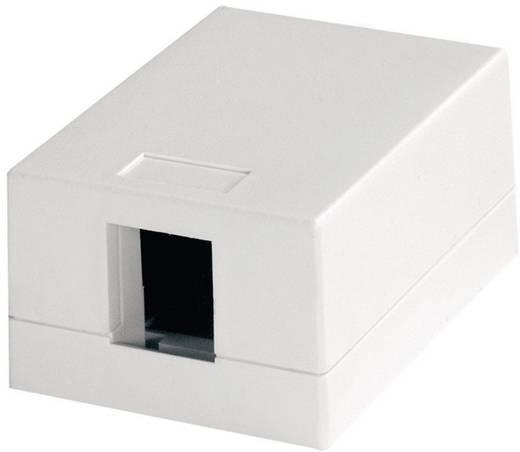Telegärtner H02000A0064 Netwerkdoos Opbouw Leeg 1 poort Alpine-wit