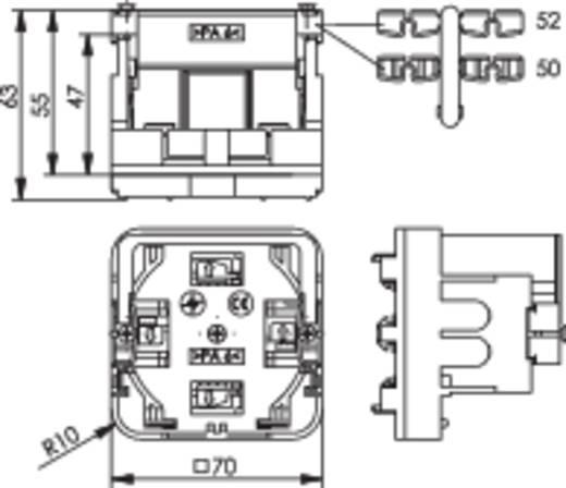Montagehouder voor kabelgoot dozen Telegärtner H02010B0013