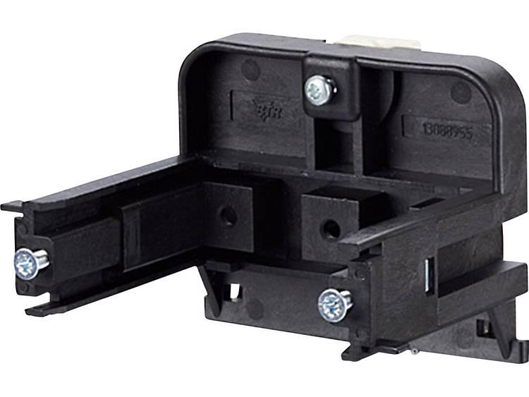 Montagehouder voor kabelgoot dozen Metz Connect 1308895520-I Zwart