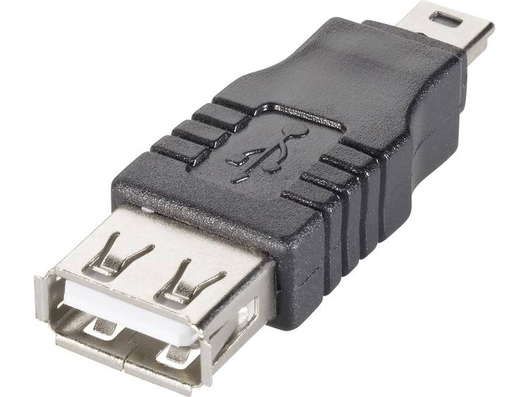 Adapter USB 2.0, Mini-B > USB-A