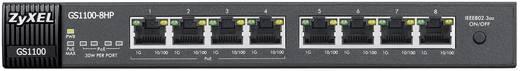 ZyXEL GS1110-8HP Netwerk switch RJ45 8 poorten 1 Gbit/s PoE-functie