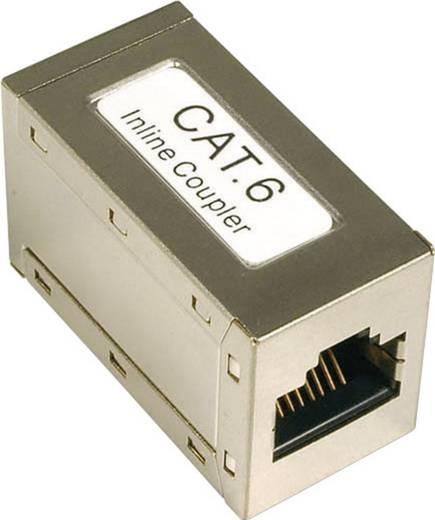 EFB Elektronik RJ45 koppelstuk CAT 6 [1x RJ45-bus - 1x RJ45-bus] Metaal
