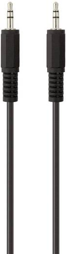Belkin Jackplug Audio Aansluitkabel [1x Jackplug male 3.5 mm - 1x Jackplug male 3.5 mm] 2 m Zwart