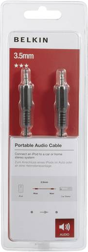 Belkin Jackplug Audio Aansluitkabel [1x Jackplug male 3.5 mm - 1x Jackplug male 3.5 mm] 1 m Zwart