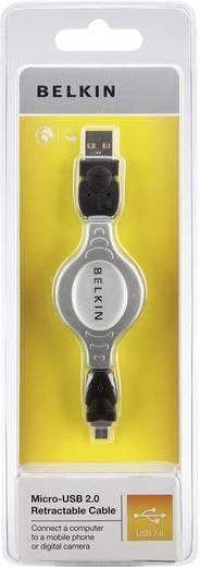 Kabel USB 2.0 Belkin [1x USB 2.0 stekker A - 1x USB 2.0 stekker micro-B] 1 m Zwart