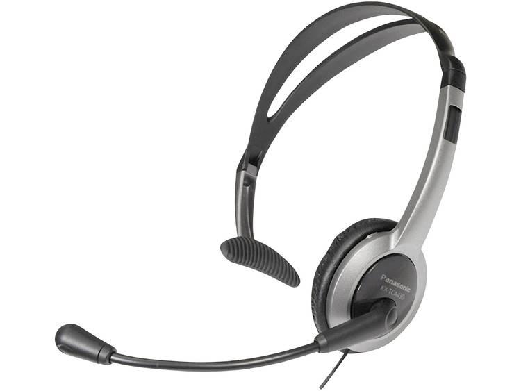 Panasonic RP-TCA 430 2.5 mm jackplug Telefoonheadset Zilver, Zwart