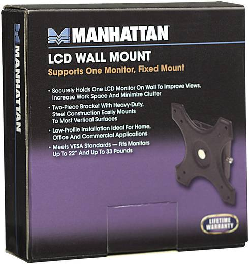 "Monitor-wandbeugel Manhattan 422840 30,5 cm (12"") - 55,9 cm (22"") Vast"