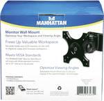 Manhattan universele wandsteun voor platte beeldschermen 30,48 - 56 cm (12