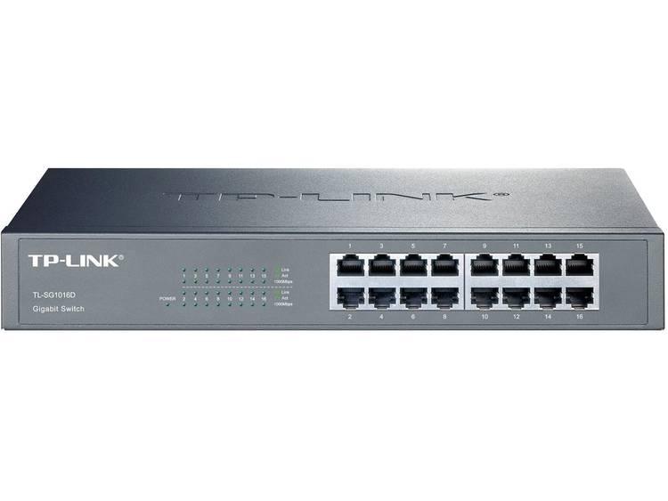 TP-LINK TL-SG1016D Netwerk switch RJ45 16 poorten 1 Gbit/s