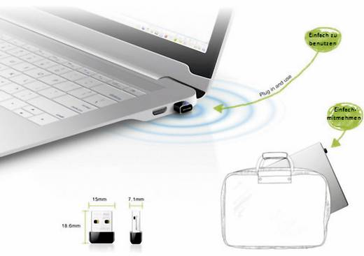 TP-LINK TL-WN725N WiFi stick 150 Mbit/s