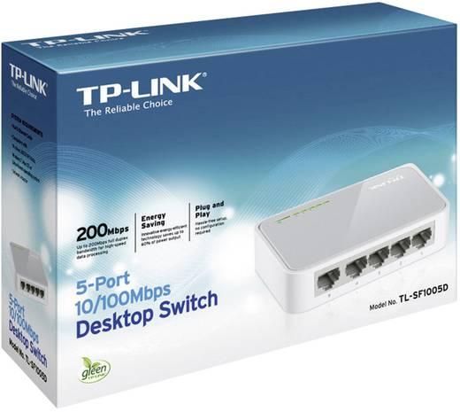 TP-LINK TL-SF1005D Netwerk switch RJ45 5 poorten 100 Mbit/s
