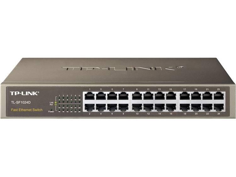 TP-LINK TL-SF1024D Netwerk switch RJ45 24 poorten 100 Mbit/s