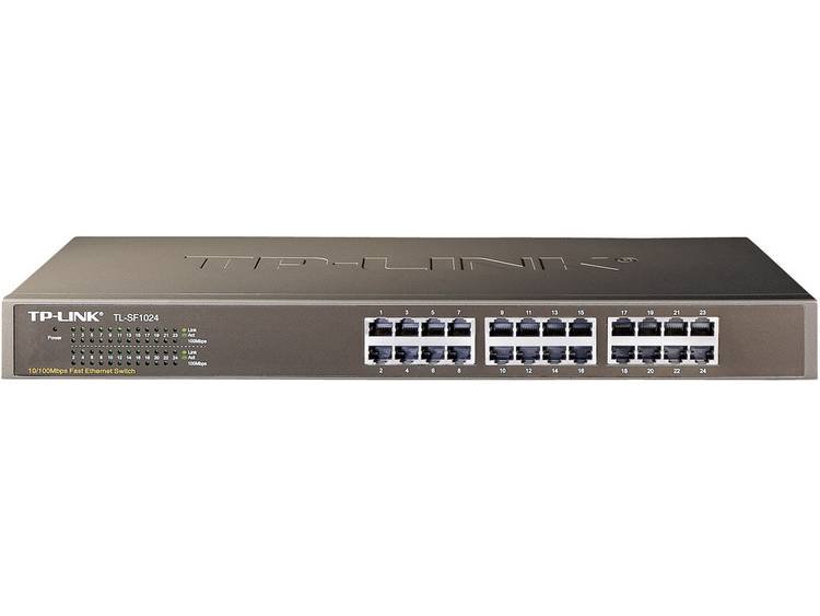 TP-LINK TL-SF1024 19 netwerk-switch RJ45 100 Mbit/s
