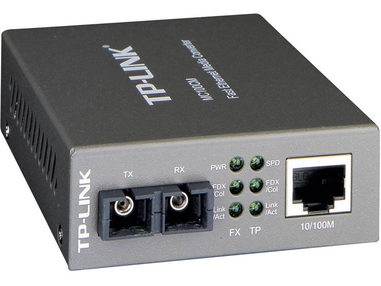 TP-LINK MC100CM Fast Ethernet-multimode-mediaconverter 100 Mbit/s