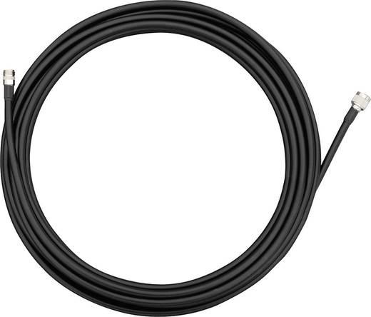 TP-LINK WiFi-antenne Verlengkabel [1x N-stekker - 1x N-bus] 12 m Zwart