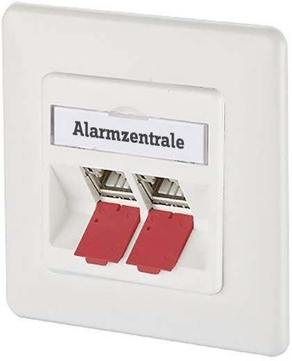 Stofkap voor module/patchpanel/subway/REG rood