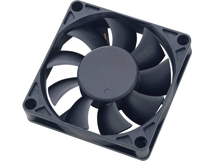 Akasa PC-behuizingsventilator 7 cm, temperatuurgestuurd