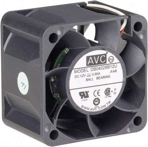 AVC F4028 PC ventilator (b x h x d) 40 x 40 x 28 mm