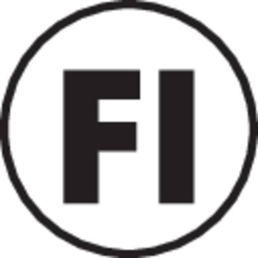 Lasklem Flexibel: - Massief: 0.25-2.5 mm² Aantal polen: 2 25 stuks Transparant, Rood