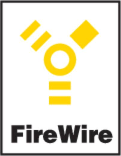 Neutrik NA 1394-6-W FireWire IEEE1394 bus Inbouwbus Nikkel 1 stuks