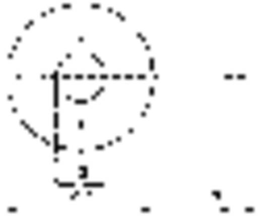 TOOLCRAFT 4,3 D9021 POLY 194732 Onderlegringen Binnendiameter: 4.3 mm M4 DIN 9021 Kunststof 100 stuks