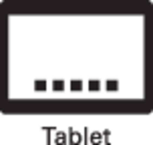 MT1097 USB-Kit 1D wireless barcodescanner Lineair imager Zwart Handmatig Bluetooth, USB