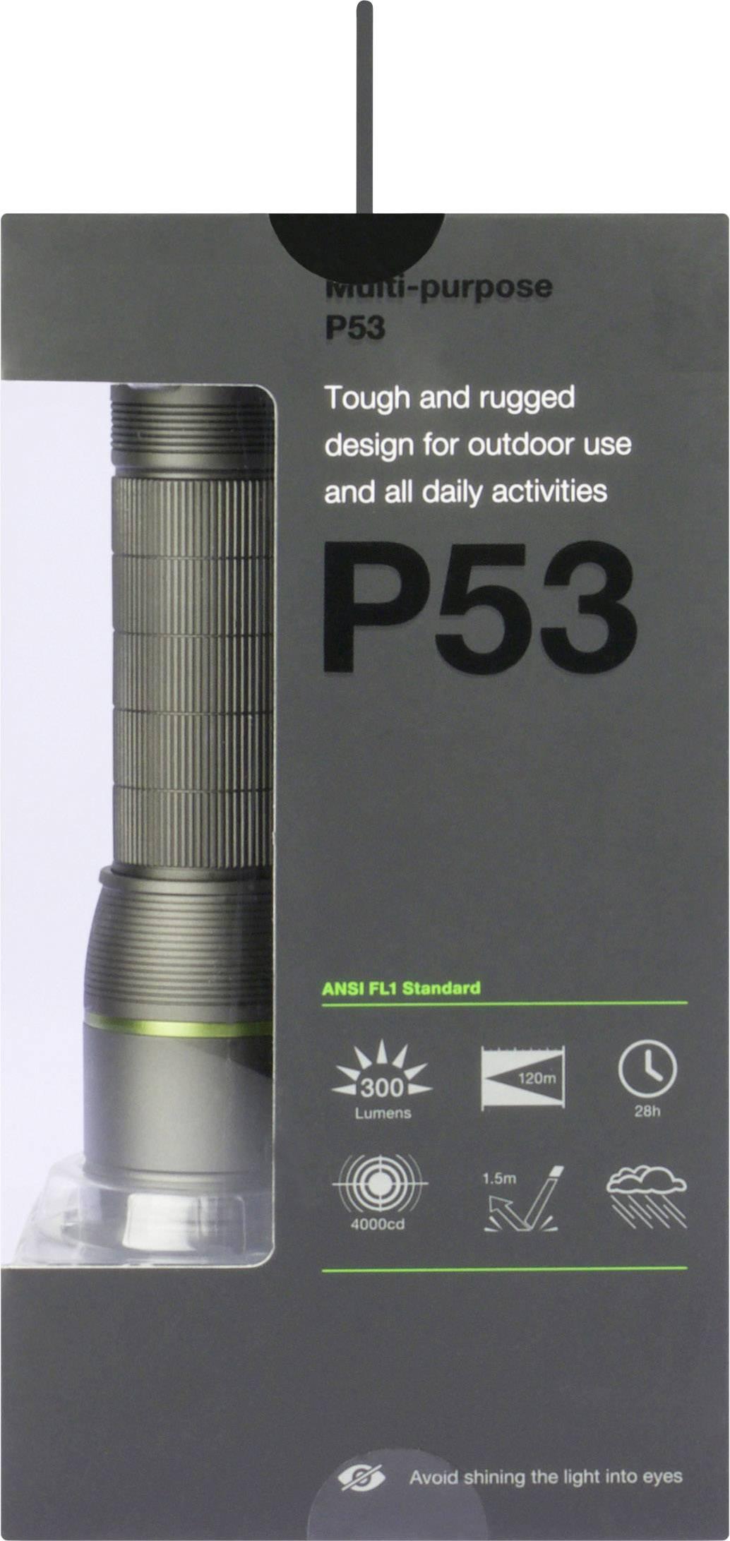 IPX 4 GP Batteries GP Design P15 Ain 150 Lumen Camping-Taschenlampen