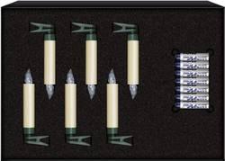 Krinner 75432 świeczki Led Z Baterią Ciepły Biały żarówka