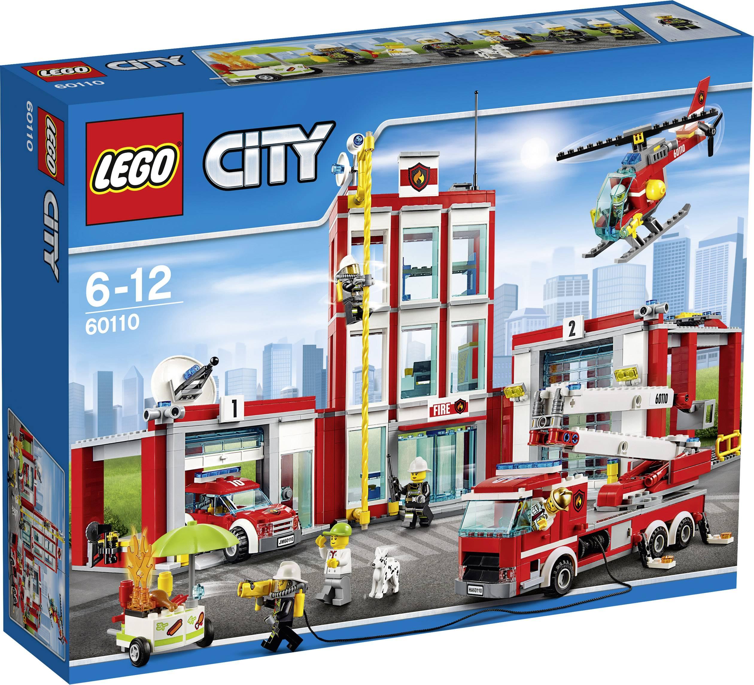 Lego City 60110 Remiza Strażacka Zamów W Conradpl