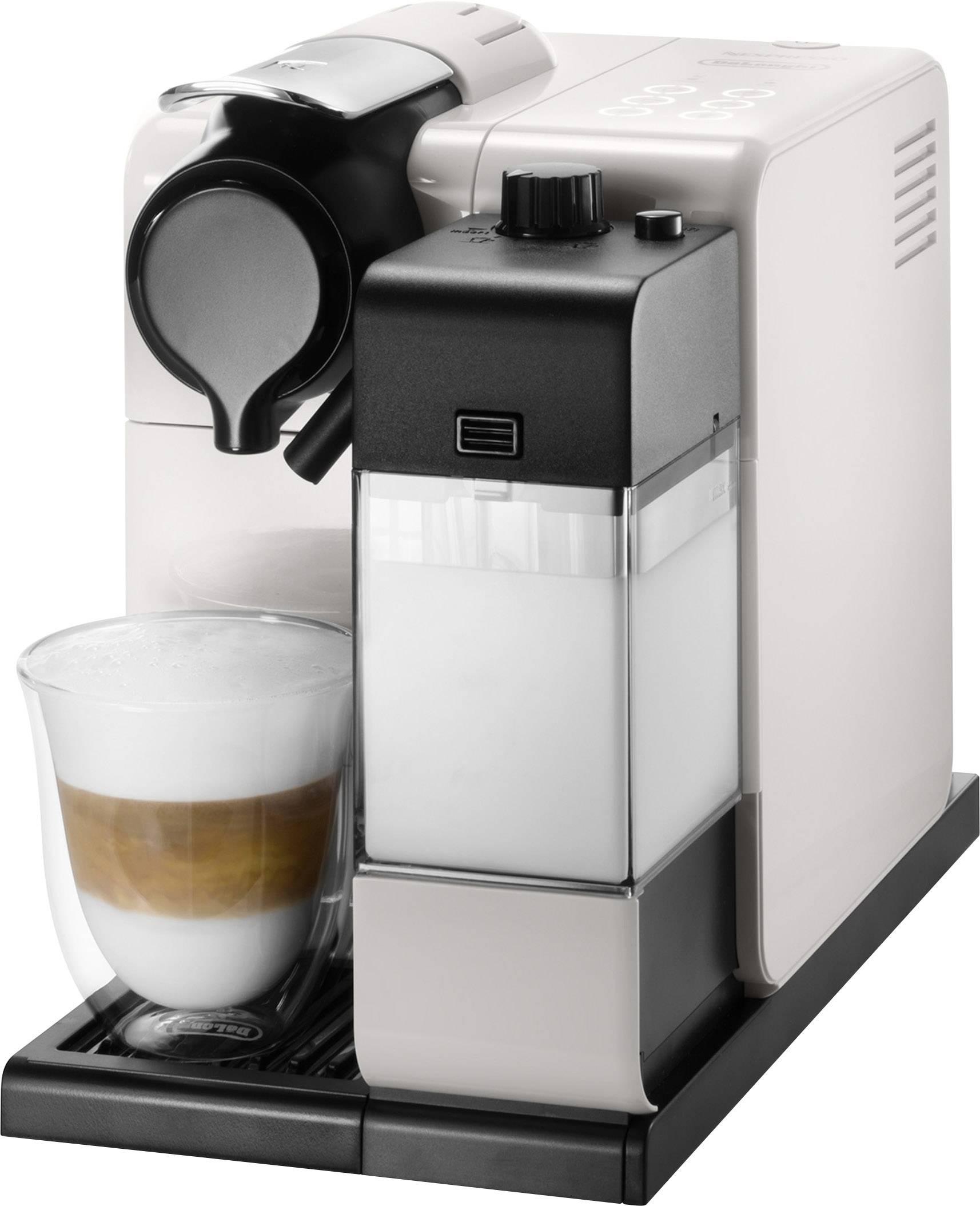 Zaktualizowano DeLonghi Latissima EN.550.W Ekspres do kawy na kapsułki biały z WX98