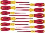 Zestaw wkrętaków VDE SoftFinish® slimFix, 12 częściowy