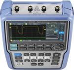R & S® Scope Rider, ręczny oscyloskop MSO, miernik zasięgu, szerokość pasma 500 MHz, 4 kanały, CAT IV