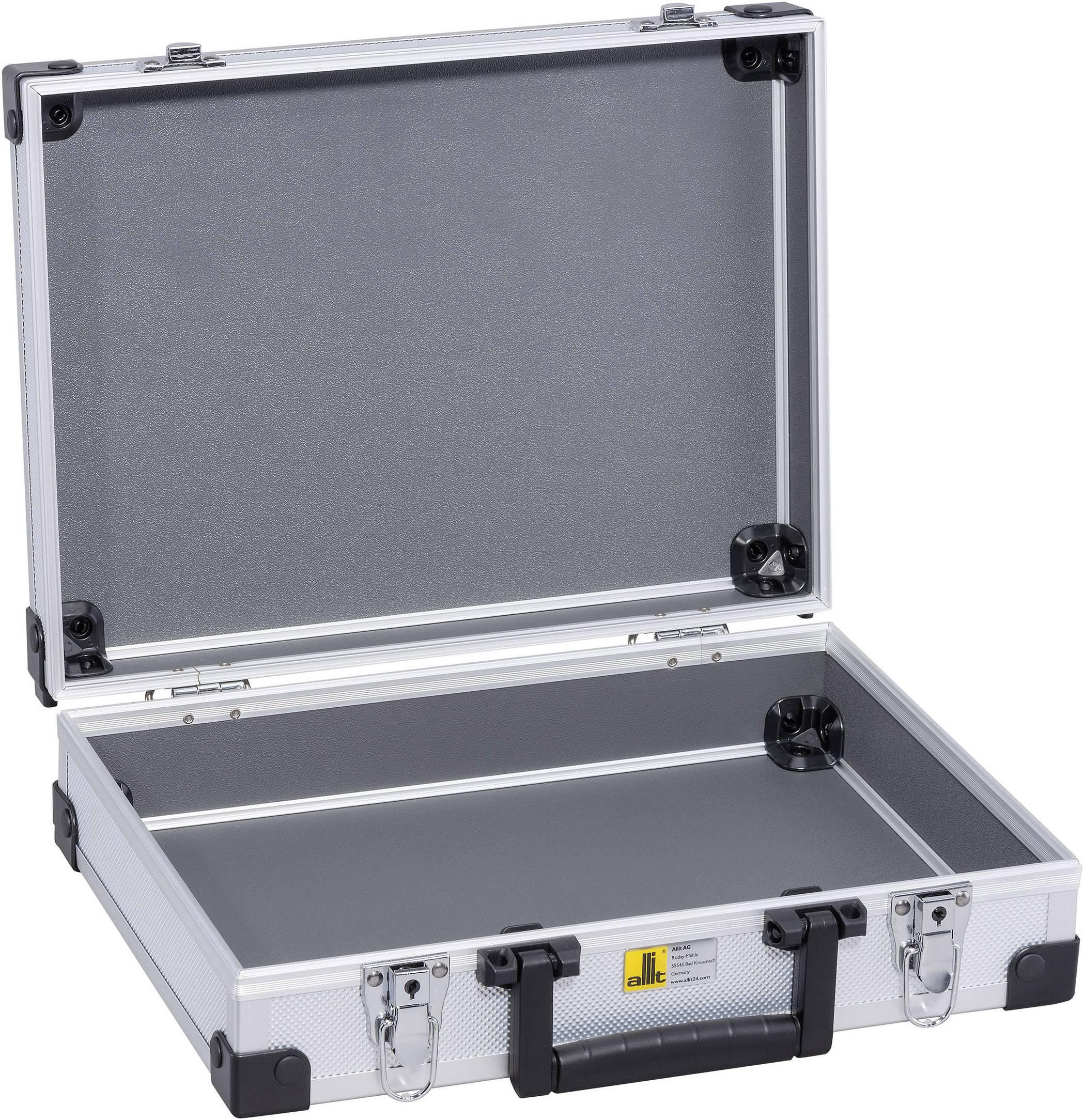 0172ffa0c372c Walizka narzędziowa bez wyposażenia Allit AluPlus Basic L 35 424100 1 szt.