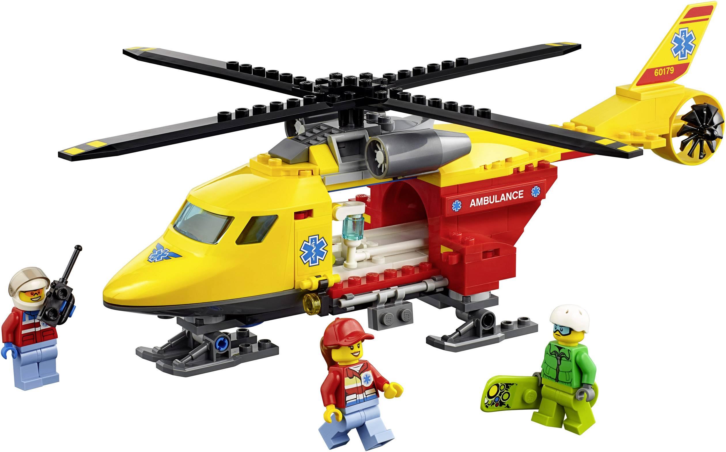 Lego City 60108 Helikopter Strażacki Zamów W Conradpl