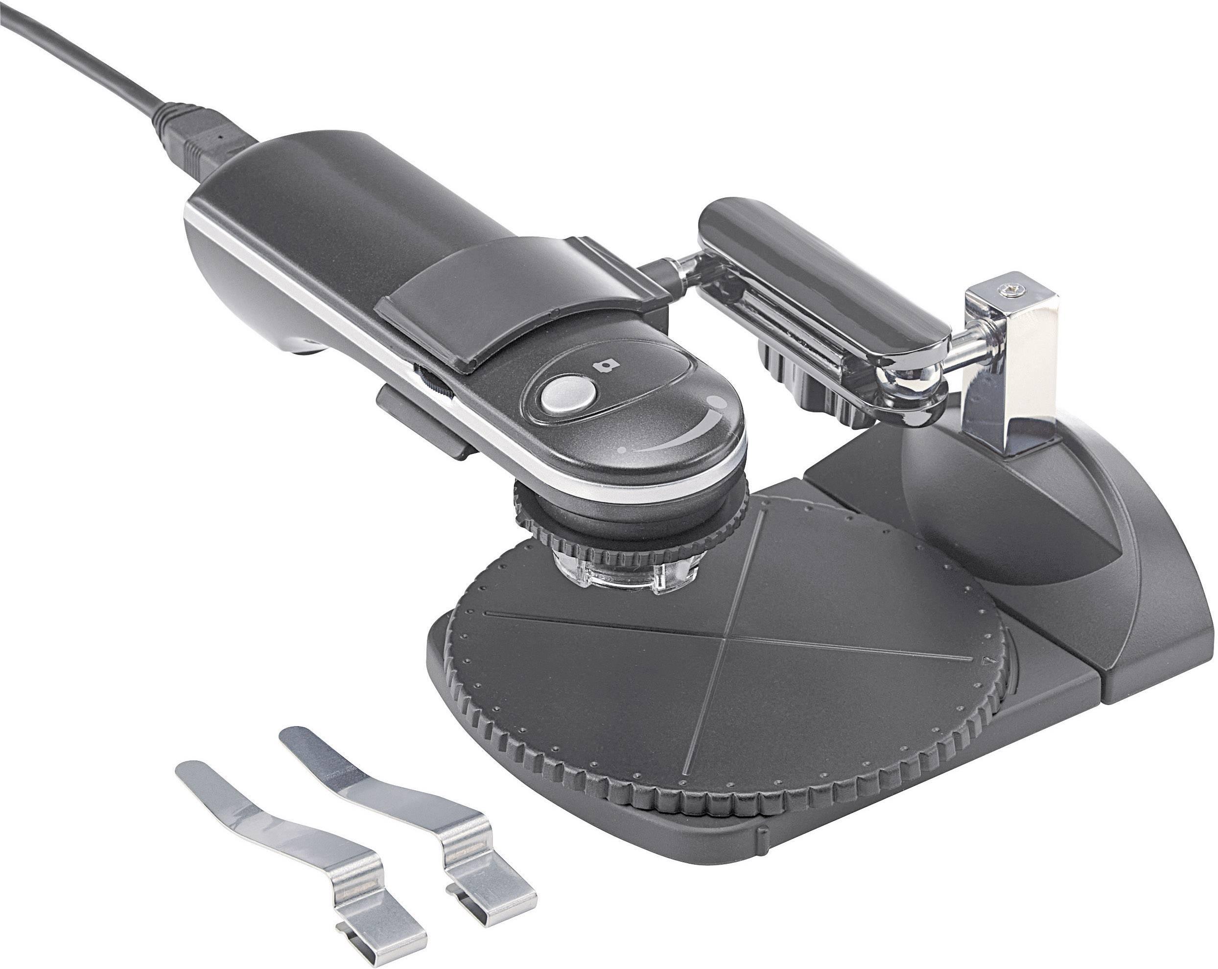 Mikroskop cyfrowy conrad usb 2 mpx 65 i 250x zamów w conrad.pl