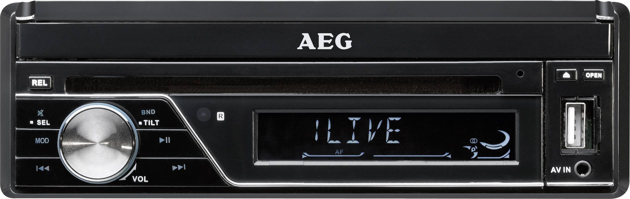 Odtwarzacz multimedialny AEG AR4026DVD 400426, 4 x 40 W, CD