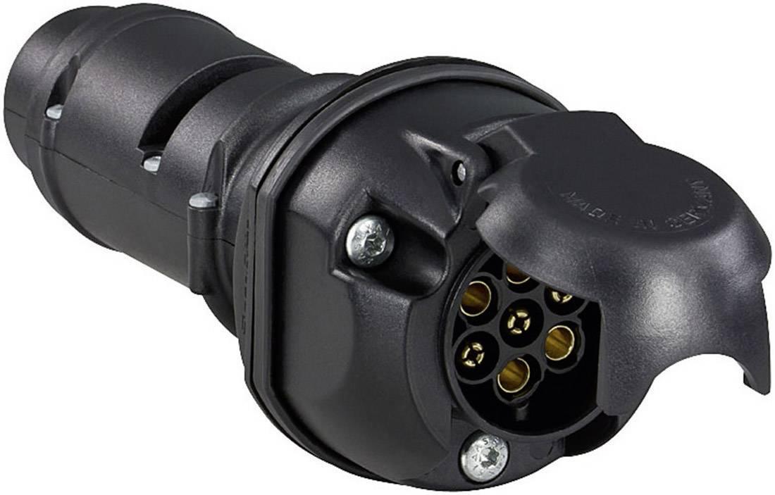 Przejściówka Adapter Gniazda Przyczepy Oświetlenia Led Can Secorüt 50223 7 Pinowe Na 7 Pinowe