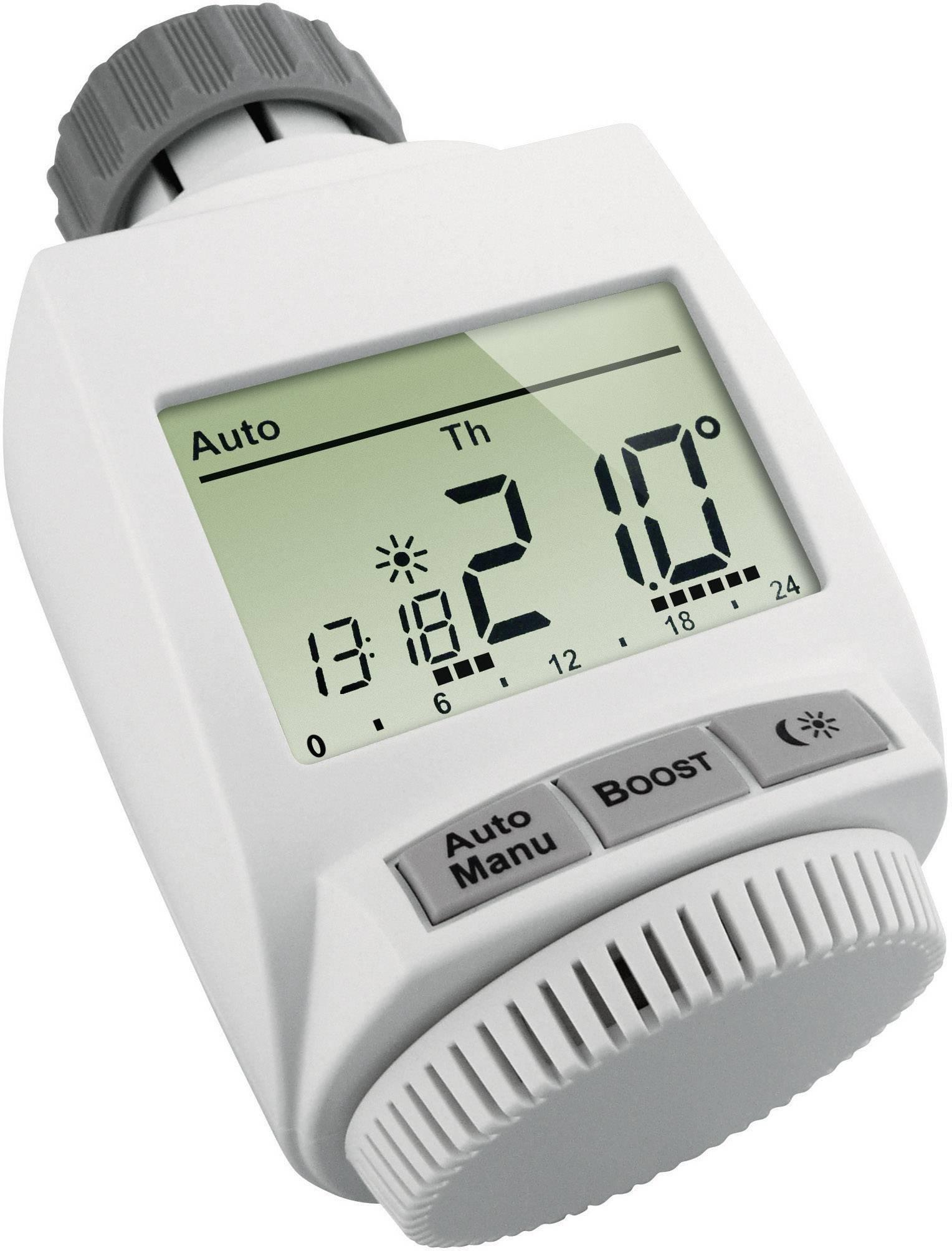 g owica termostatyczna termostat grzejnikowy eq 3 max 05936 programowalna zam w w. Black Bedroom Furniture Sets. Home Design Ideas