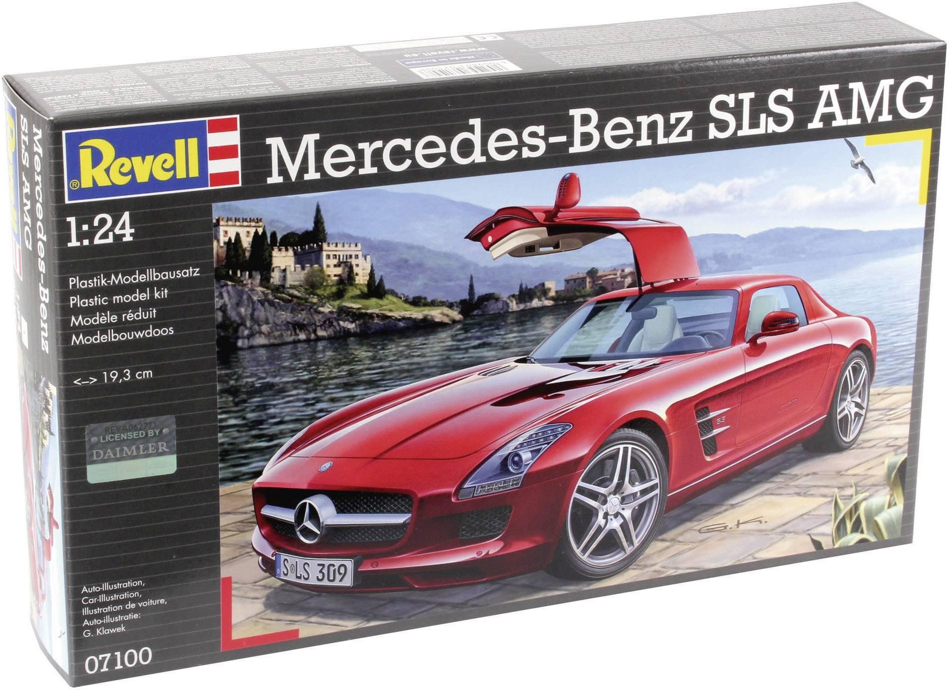 Model samochodu do sklejania Revell Mercedes SLS AMG 1 24