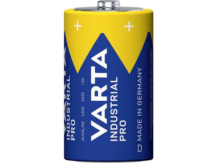 Varta Industrial Pro LR20 Batteri R20 (D) Alkaliskt 16500 mAh 1.5 V 1 st
