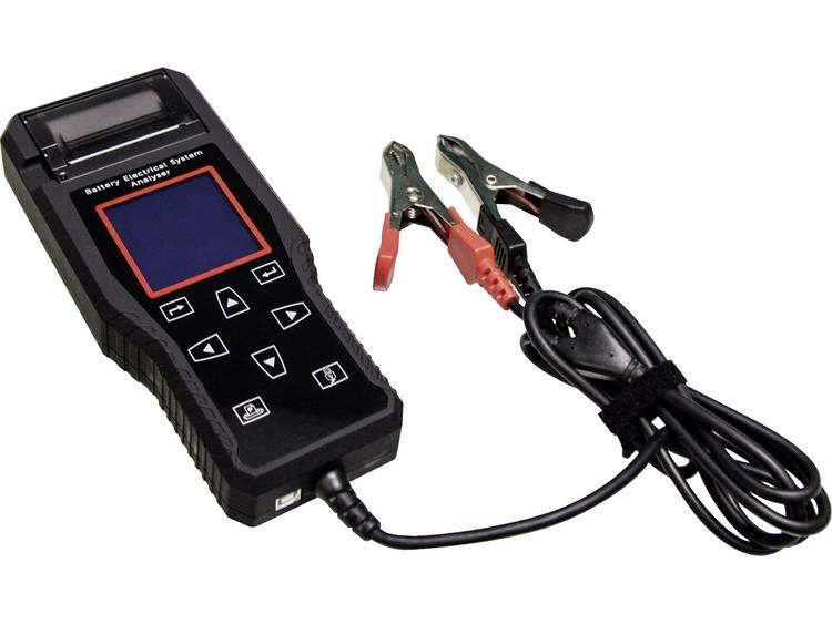 Helvi T10 Batteriövervakning, Bil-batteritestare, System-analysator Inkl. skrivare, Laddningsövervakning 105 mm x 285 mm x 320 mm