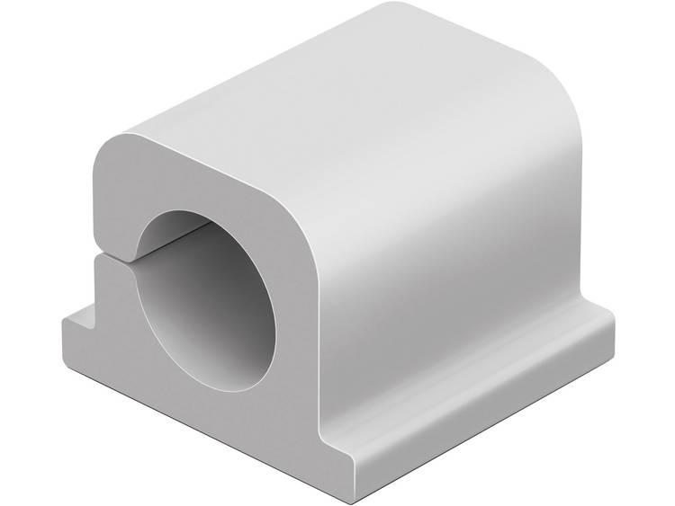 Durable Kabelklämma CAVOLINE® CLIP PRO 1 504210 6 st (B x H) 20 mm x 21 mm