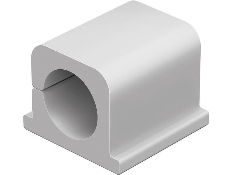 Durable Kabelklämma CAVOLINE® CLIP PRO 2 504310 4 st (B x H) 25 mm x 25 mm