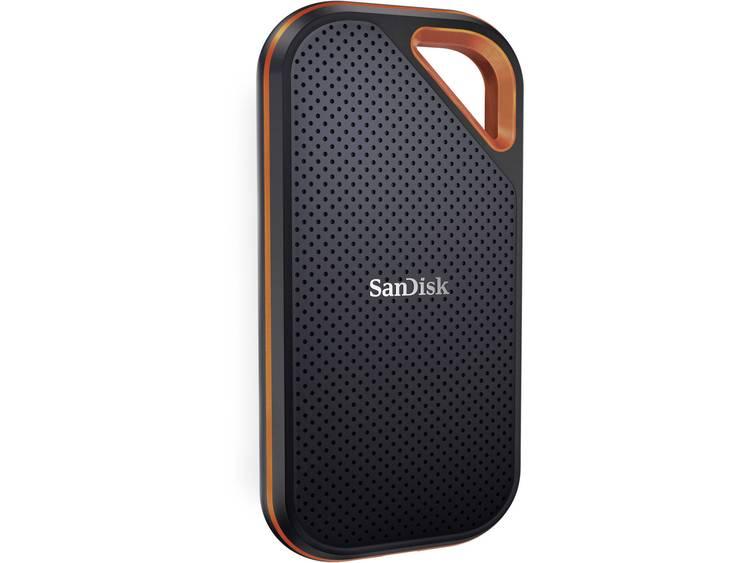 SanDisk Extreme® Pro Portable Extern SSD-disk 2 TB Svart, Röd USB 3.1