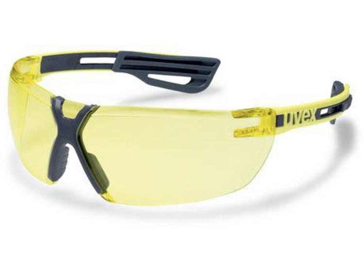 Uvex x-fit pro 9199240 Skyddsglasögon inkl. UV-skydd Gul, Antracit