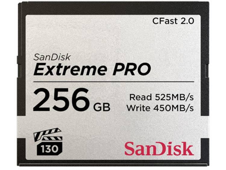 SanDisk Extreme PRO® CFast-kort 256 GB