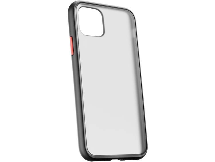 Cellularline SMOKYQUARIPHXIMAXK Backcover Apple iPhone 11 Pro Max Svart (transparent)