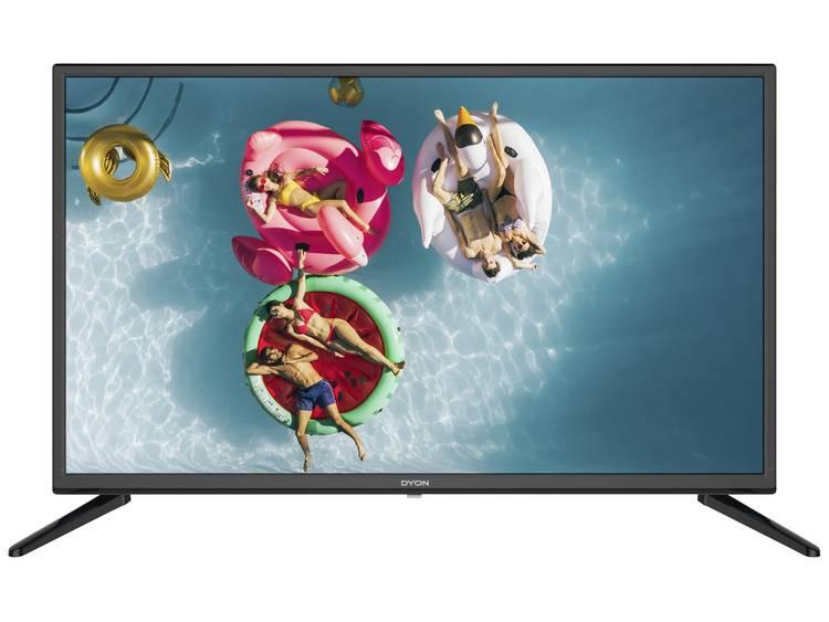 Dyon Live 32 Pro LED-TV 80 cm 31.5 tum EEK A+ (A+++ - D) DVB-T2, DVB-C, DVB-S, HD ready, CI+ Svart