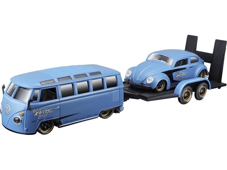 Maisto Design Elite Transporter VW Van & Beetle 1:24 Modellbil