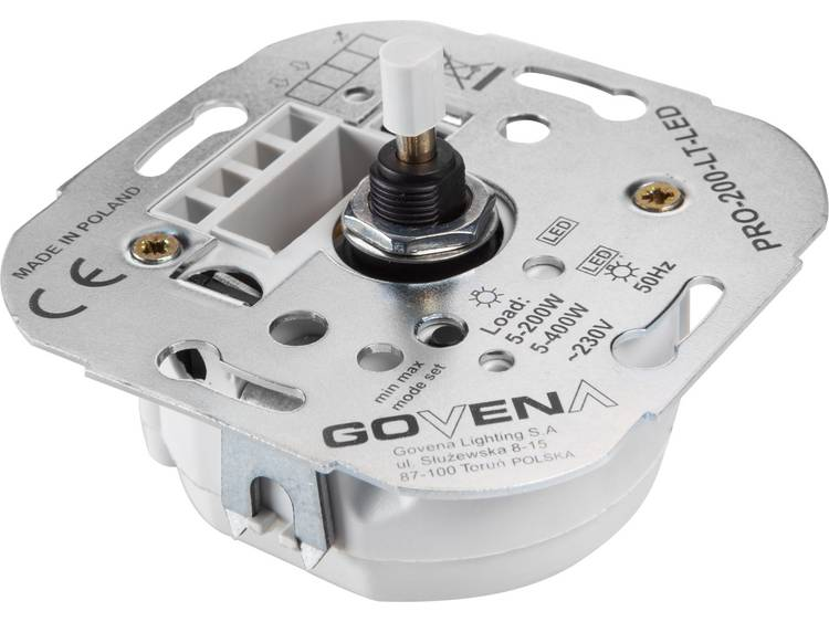 Govena Lighting PRO-200-LT-LED Vriddimmer Passar: LED-lampa, Halogenlampa, Glödlampa, Lysrör, Lågenergilampa